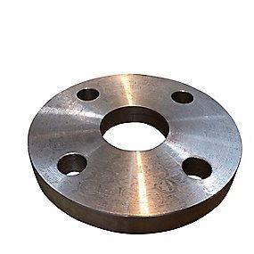Image of   Plan flange 42,4mm. 4 bolthuller. PN10. DIN 2576B kval. S235JRG2