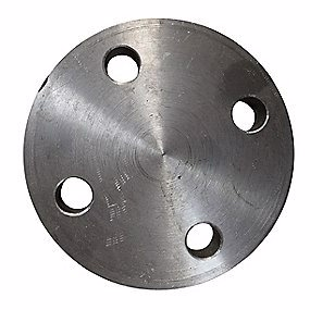 Image of   Blindflange 76,1mm. 4 bolthuller. PN16. DIN2527/EN1092-1 kv. S235JRG2/P250GH i vort valg