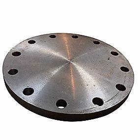 Image of   Blindflange 219,1mm. 12 bolthuller. PN40. EN1092-1/5 P250GH
