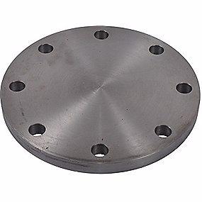 Image of   Blindflange 4''. 8 bolthuller. ASTM-A/SA105N, RF, 150 lbs