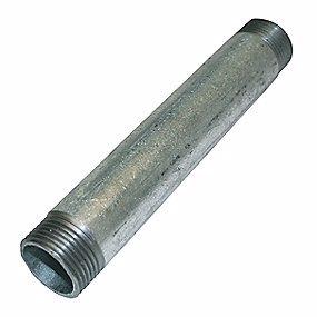 """Image of   Altech galvaniseret nippelrør 1"""" 50 mm"""