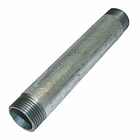 """Image of   Altech galvaniseret nippelrør 3/8"""" 60 mm"""