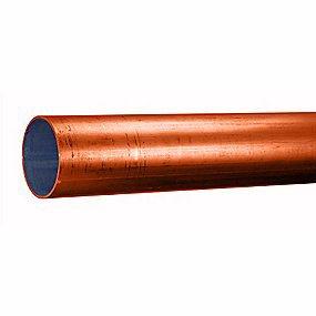 Image of   Sømløse stålrør 114,3 x 3,6 mm. EN10220/10216-2 P235GHTC1 Slyngrenset og primet