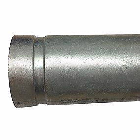 Image of   galv sv. rør DN50. 60,3x2,00mm P235TR1/EN 10217-1 /ASTM A 53/795 Rillede ender, FM godk.