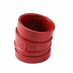 Atusa Sprinkler bøjning DN32 1.1/4''-42.4mm. 11,25gr. red paint