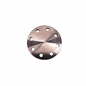 Image of   Blindflange DN 100. 8 bolthuller. EN1092-1 type 5/Din2527. PN16. Rustfri stål AISI316L