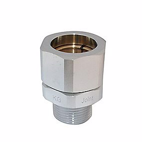 Image of   1/2 Union-nippel t/flex.gasrør Tilbehør rustfri stålrør