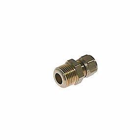 Image of   VSH kompressions overgang 1/4'' - 8 mm nippel