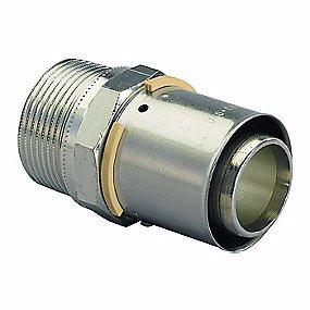 Image of   Uponor MLC preskobling med nippel 50 mm x 1.1/2''
