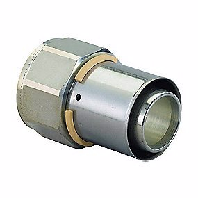 Image of   Uponor MLC preskobling med muffe 40 mm x 1.1/2''