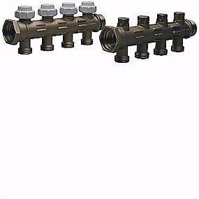 Image of   Uponor fordelerrør WGF 1 med 4 afgreninger 20x2 mm