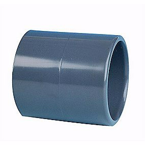 Image of   GF PVC muffe lige 50 mm