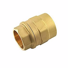 Image of   Isiflo overgang med muffe 20 mm x 3/4''