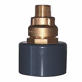 Image of   BF Kombi murkobling 90mm - 50mm x 1.1/2'' Til jordvarme
