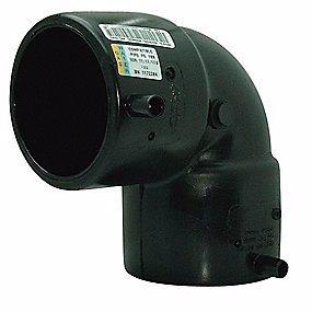 Image of   Uponor Fusamatic PE EL-vinkel 110 mm 90° PN16 SDR11