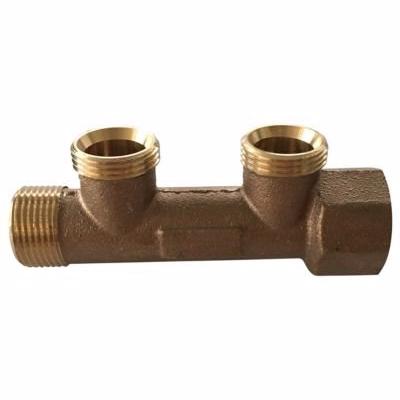 """Image of   Altech 3/4"""" fordelerrør med 2 grene, bronze"""
