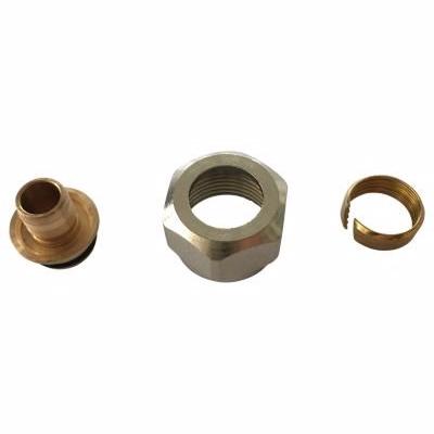Image of   18x2,5-3/4'' ovgergang til pex, euroconus bronze