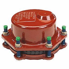 Image of   GF MULTI JOINT 3207 Plus Slutmuffe kobling DN150. 154-192 mm. Trækfast. Uni/fiksers. A4 bolte. Du