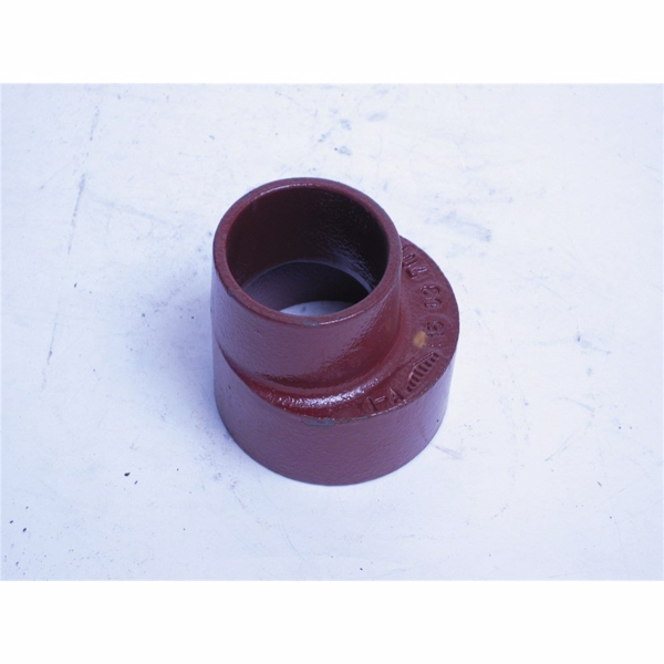 Image of   Düker SML Reduktion DN70, 70-50 mm, længde 75 mm, rød