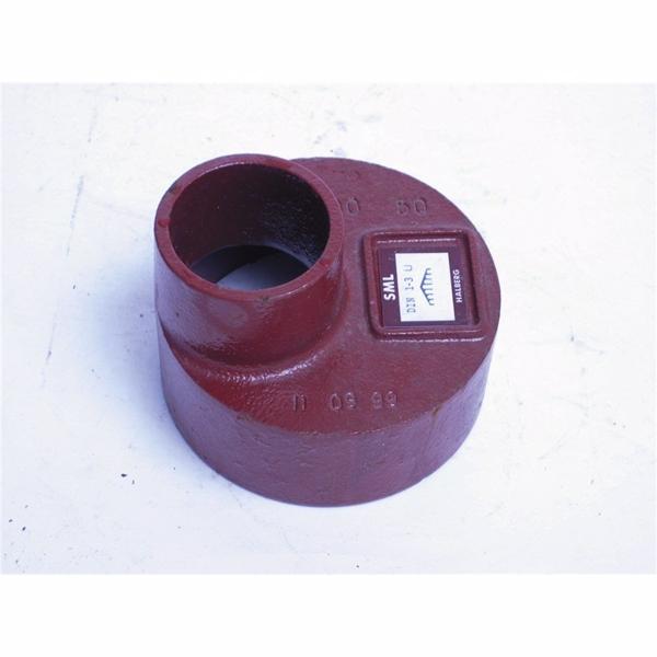Image of   Düker SML Reduktion DN100, 100-50 mm, længde 80 mm, rød