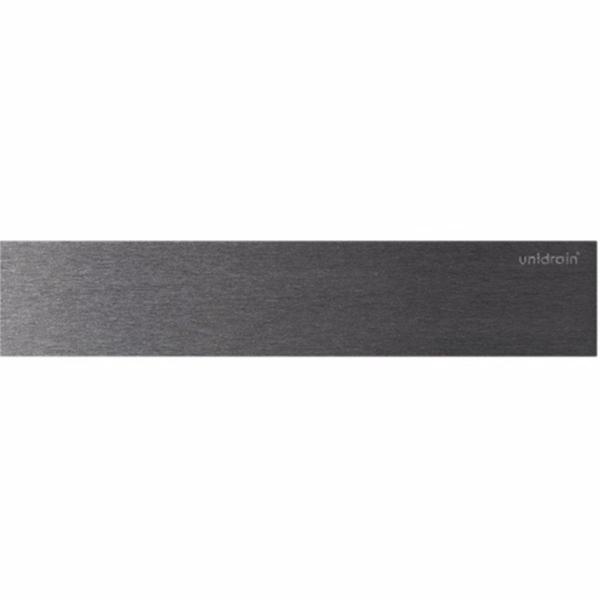 Image of   Unidrain HighLine Panelsæt. Linje rustfrit stål. Børstet. 1000mm