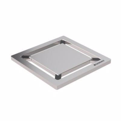 Image of   Geberit Square Rist 8 x 8 cm. Børstet stål