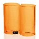 Neon Living Infinity Holder - Orange