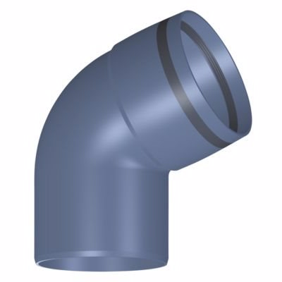 Image of   POLO-KAL XS lyddæmpet afløbsbøjning 110mm. 67gr.