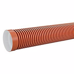 Uponor PP kloakrør 560x3000mm SN8 u/tætn.ring, Ultra Double