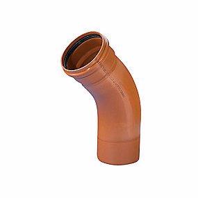 Image of   Wavin PVC bøjning 45° 250mm