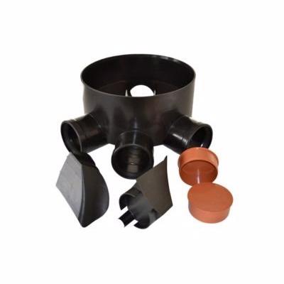 Image of   Wavin PP Multibrønd 315-110mm. TP5 med fleksible indsatser og propper