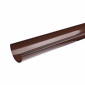 Plastmo tagrende, nr. 11, 6 meter , brun