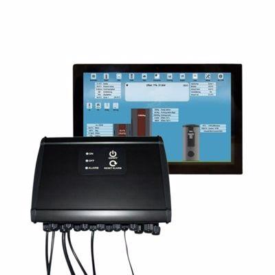 Image of   NBE V13 styring inkl. 10'' Tablet, V13 styring i aluboks til vægmontage