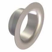 Metalbestos 130mm murbøsning 50mm flange. (til Multi25, Omega)