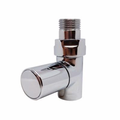 Image of   Kriss Cylinder ventilsæt 1/2'' ligeløbende, manuelt. Krom.
