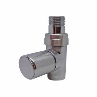 Image of   Kriss Cylinder Manuel ventilsæt 1/2''. Ligeløbende. Børstet