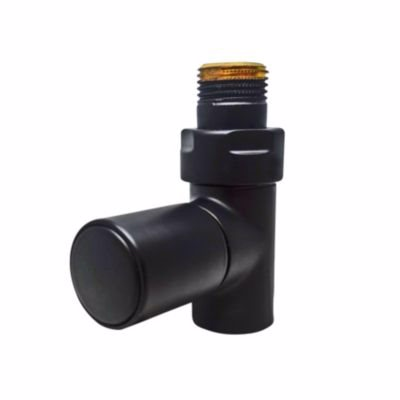 Image of   Kriss Cylinder Manuel ventilsæt 1/2'' ligeløbende. Sort