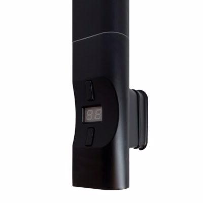 Image of   Kriss Nuvo elvarmeelement D/profil Boostfunktion. 300 Watt, Passer til lodrette D-profilrør. Sort