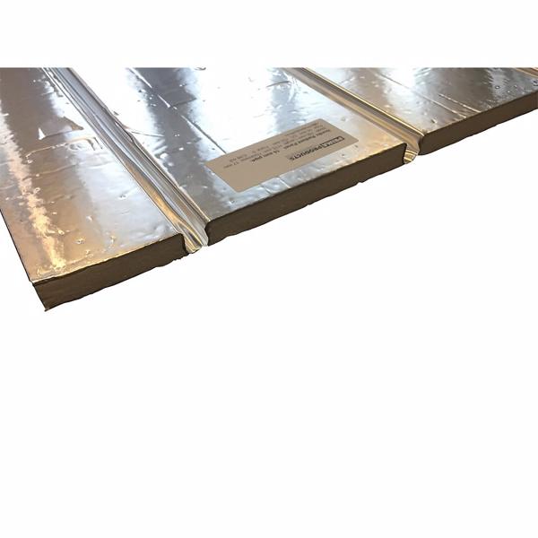 Billede af Altech gulvvarmeplade til 12 mm 1175x750x13 mm +vendespor og alu. varmefordeling CC 125 mm
