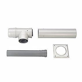 Image of   Bosch Aftræk startpakke t/skorsten. Ø80/125 mm. For Cerapur/Europur AZB 616/1
