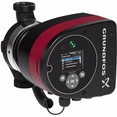 Image of   Grundfos MAGNA3 pumpe 25-80. 180 mm 1x230V PN6/10