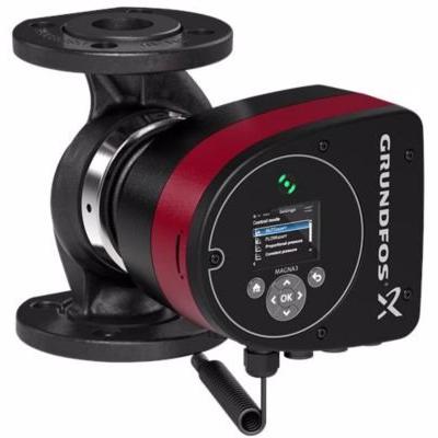 Image of   Grundfos MAGNA3 pumpe 32-80 F. 220 mm 1x230V PN6/10