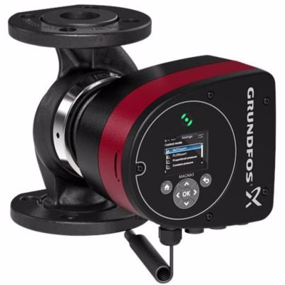 Image of   Grundfos MAGNA3 pumpe 40-40 F. 220 mm 1x230V PN6/10