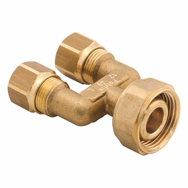 Image of   Uponor Minitec dobbeltfordelerrør inklusiv koblinger 9,9mm