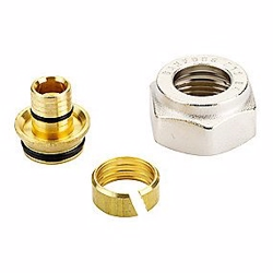 Danfoss Klemringfittings til pex, G 3/4A, Ø 16 x 2 mm, 013G4156