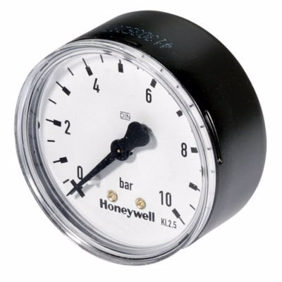 Image of   Honeywell Manometer til D06F Ø63mm. 1/4'' 0-10 bar.