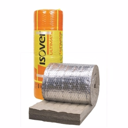 Isover isolering U Protect Wired Mat 4.0 Alu1 50mm 2x3,6m2