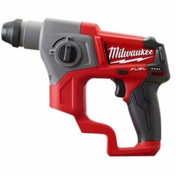 Milwaukee Borehammer 12V M12 CH-0 sds-plus - Ekskl. kuffert, batterier & lader