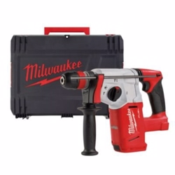 Milwaukee Borehammer 18V M18 CHX-0X sds-plus med HD Box og borepatron - Ekskl. batterier & lader