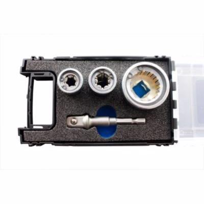 Image of   Sinkfix skruesæt VVS 4 dele: S-forbindelse top, M8 og M10 top, 1/2'' topholder